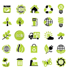 set-eco-signs-vector-818287